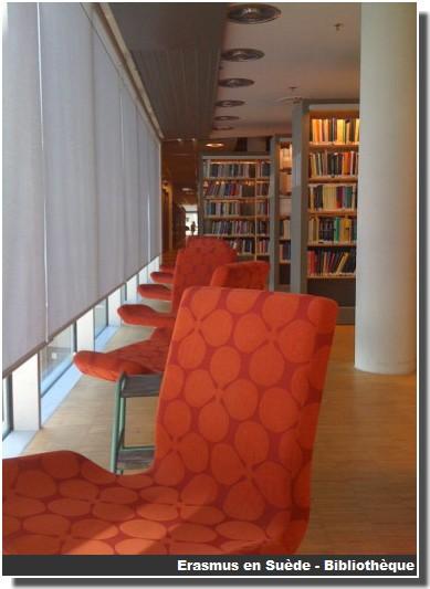 Bibliotheque campus Vaxjo Suede