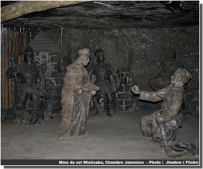 Wieliczka chambre janowice