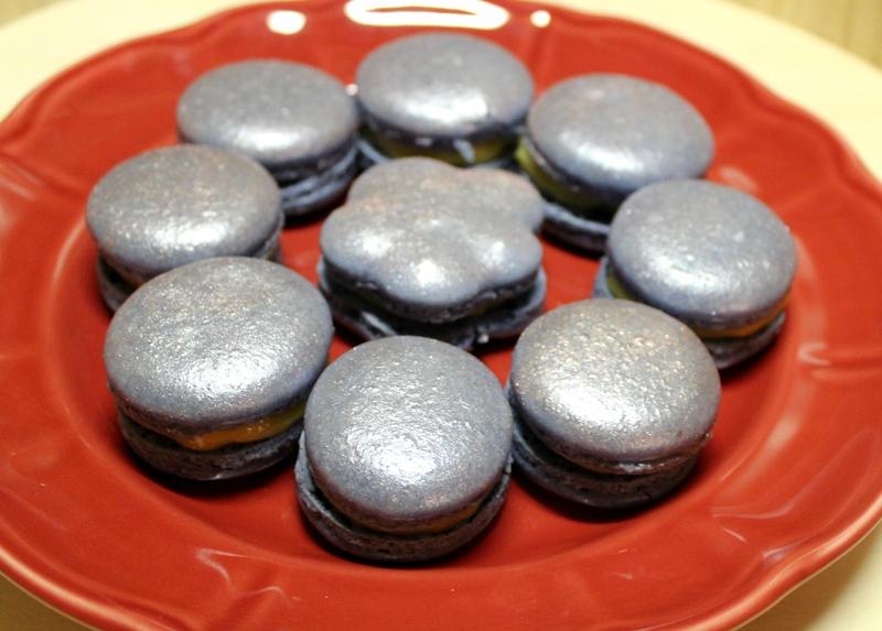 macarons feves tonka