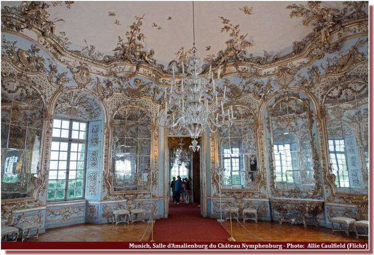 Chateau Nymphenburg Salle Amalienburg