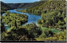 Riviere Krka en Croatie