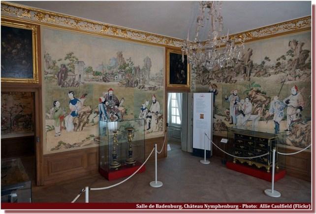 Salle Badenburg Chateau Nymphenburg Munich