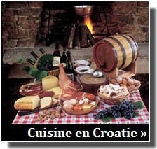 gastronomie en Croatie