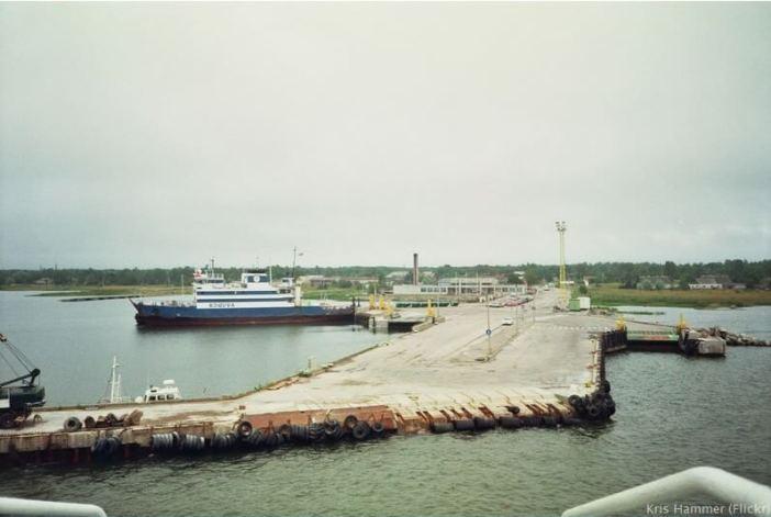 Ile Hiiumaa embarcadere du ferry