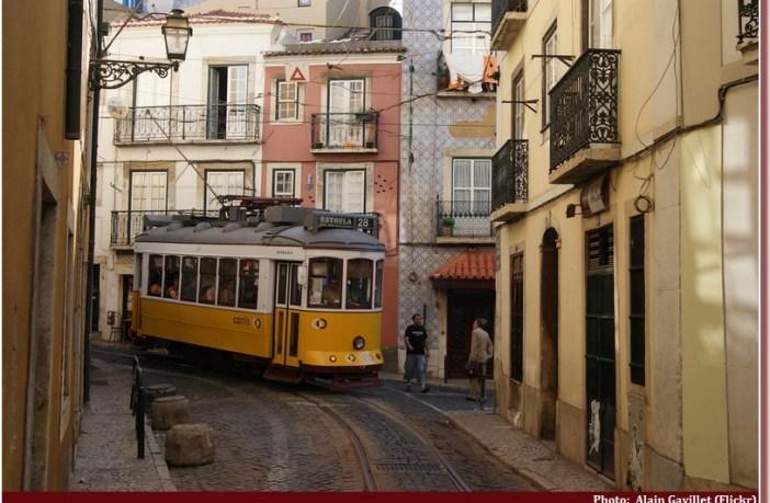 Tramway Lisbonne Lisboa
