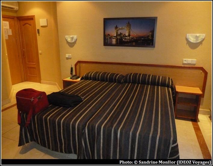 hotel mediodia madrid atocha chambre