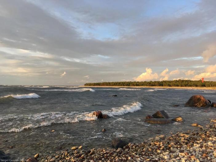 plage sur l'île Hiiumaa