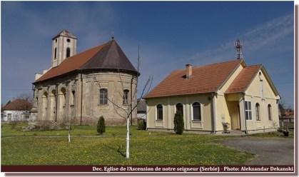 Eglise de l'ascension de notre seigneur à Dec (Serbie)
