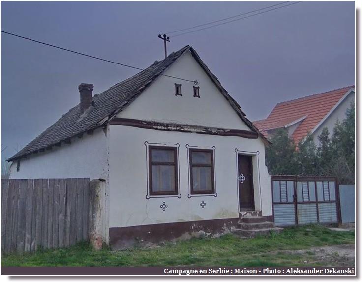Kupinovo maison en campagne en Serbie