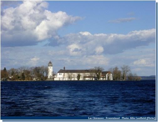 frauenchiemsee sur le lac Chiem dans le Chiemgau