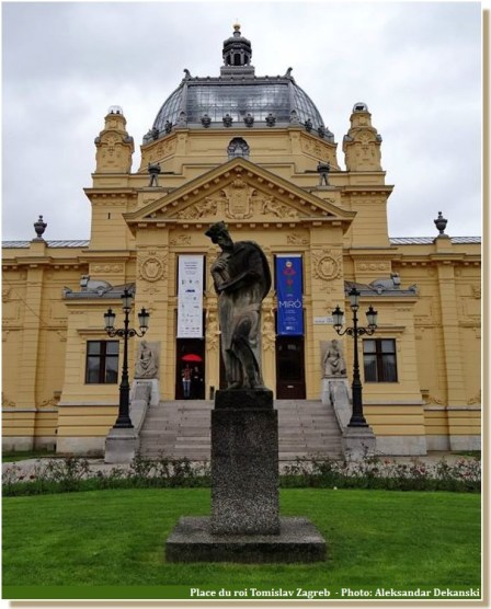 theatre zagreb Place du roi Tomislav
