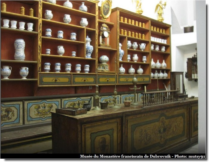 Dubrovnik musée monastere franciscain