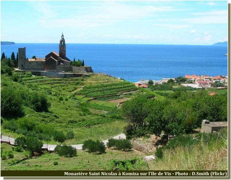 monastere saint nicolas Komiza ile de vis