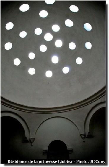 Belgrade résidence de la princesse Ljubica interieur