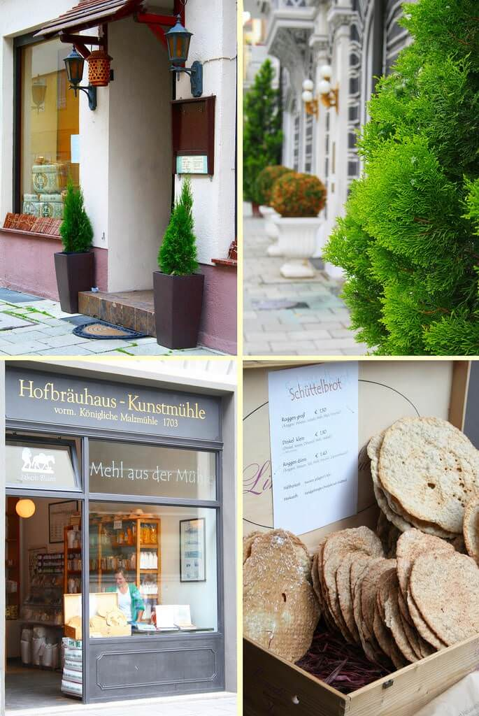 Lehel Munich devantures de magasins de farine