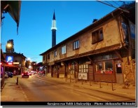 Sarajevo rue Teleli a bascarsija