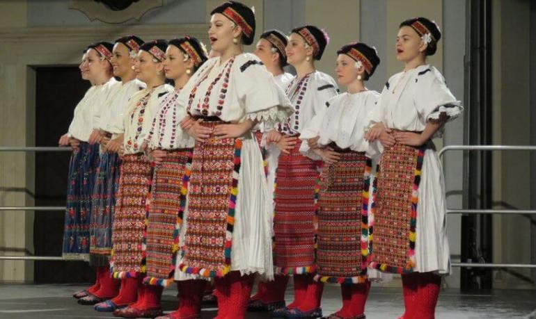 Slavonski Brod danses folkloriques de la Saint Etienne