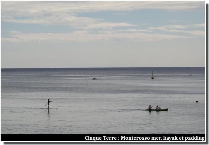 cinque terre monterosso kayak padding