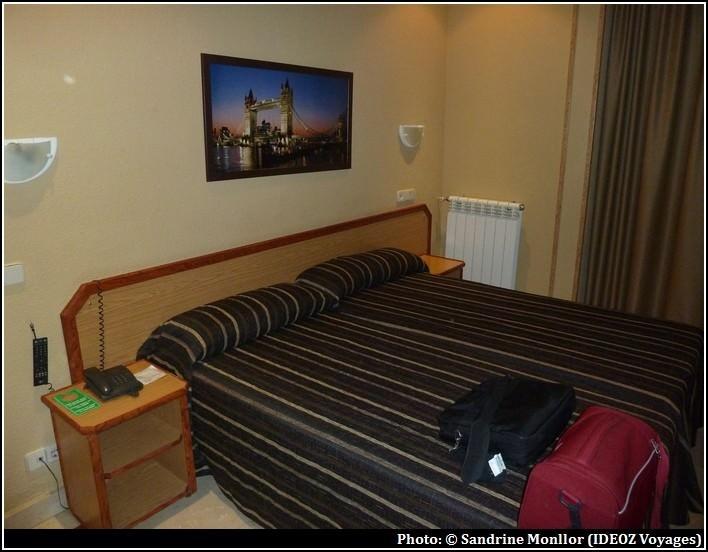 madrid hotel mediodia chambre