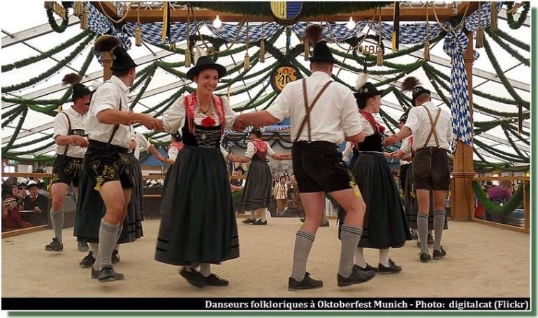Danse folklorique à Oktoberfest
