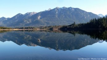 lac Barmsee en Baviere en décembre