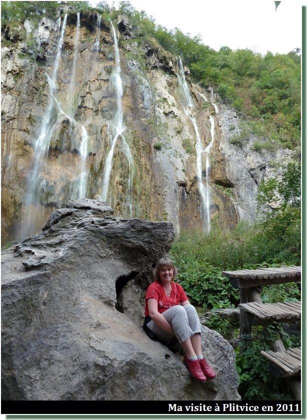 visite du parc de Plitvice en 2011