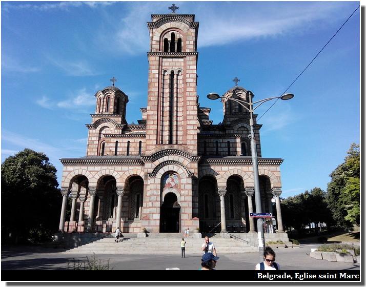 Belgrade eglise saint marc