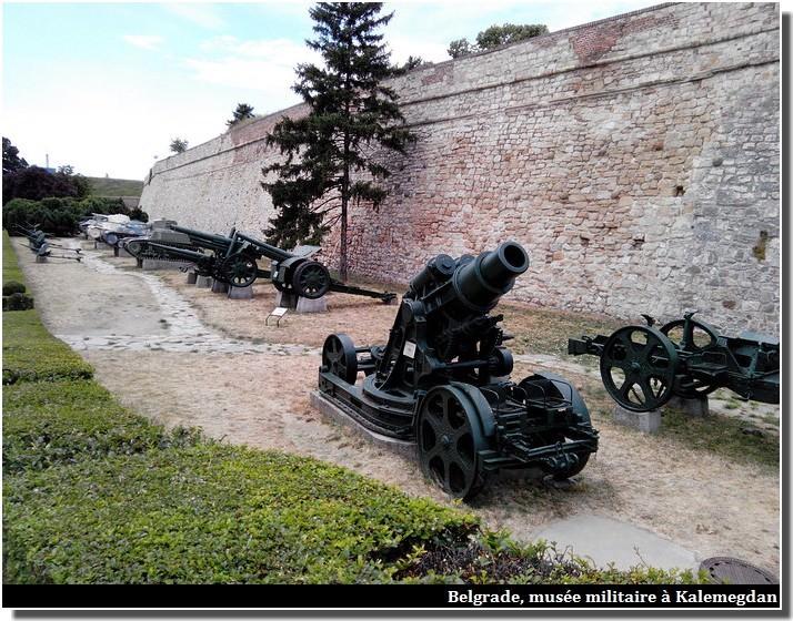 Belgrade musée de la guerre Forteresse Kalemegdan