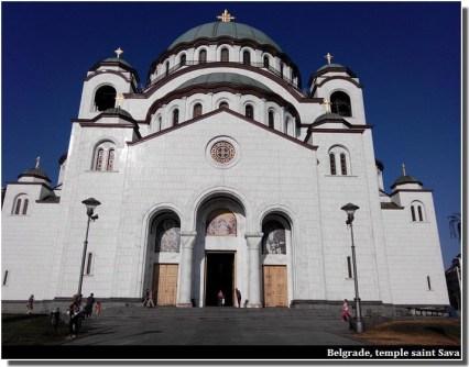 Belgrade temple Sava