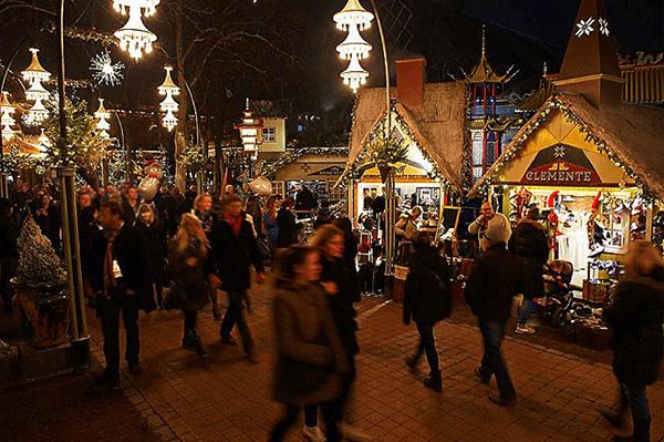 Copenhague parc tivoli marché de noel(1)