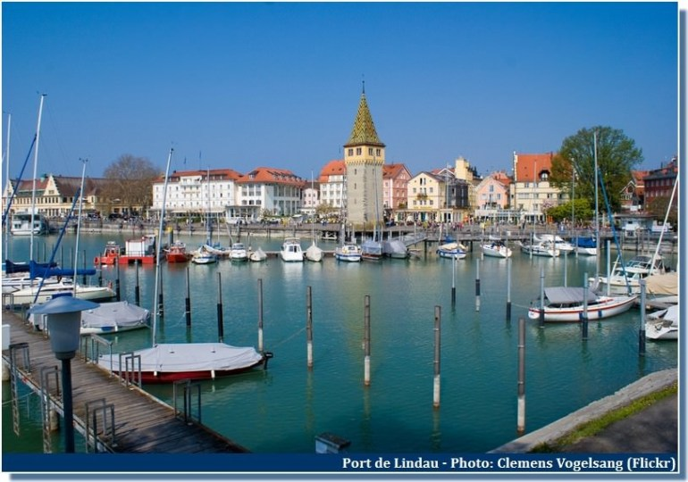 Port de Lindau Bavière
