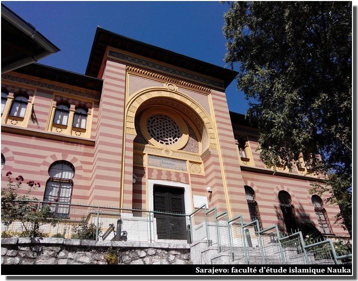 Sarajevo faculté d'étude islamique Nauka