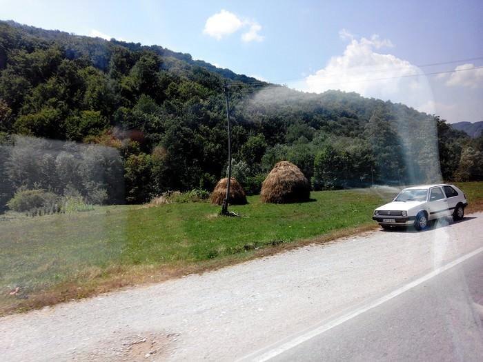 route des balkans en serbie