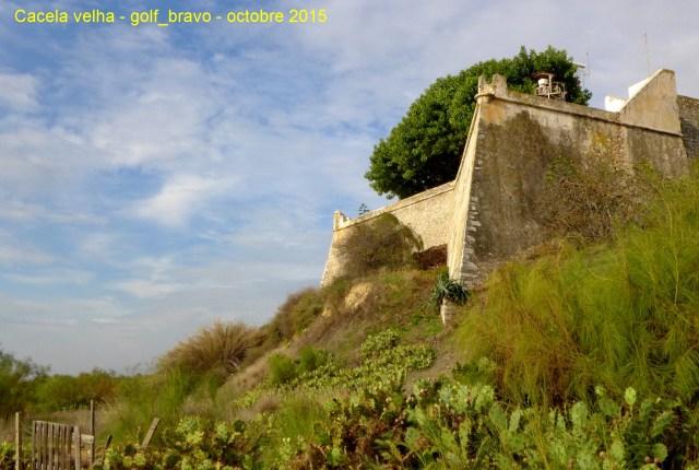 Algarve: les remparts de Cacela Veha