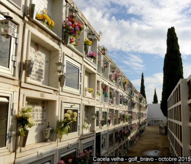 Algarve: le cimetière de Cacela velha