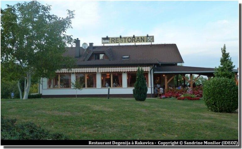 Restaurants à Plitvice Degenija Rakovica