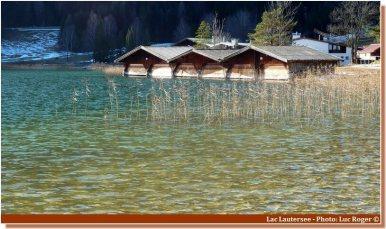 Cabanes sur le Lac Lautersee