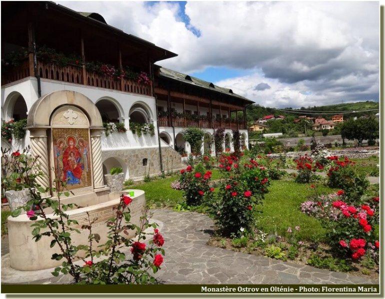 Fontaine Monastère d'Ostrov