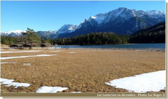 Lac Lautersee en Baviere