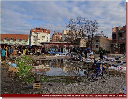 Sremska Mitrovica marché