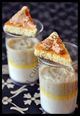panna cotta foie gras artichaud