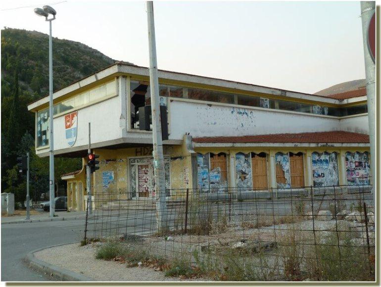 Centre ville de Stolac délabré