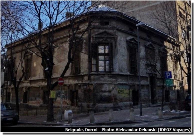 Belgrade Dorcol vieilles maisons