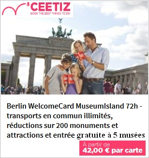 Acheter la Welcome Berlin Card
