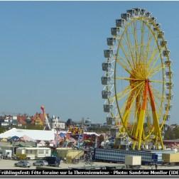 Fruhlingsfest à Munich Grande roue