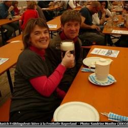 Munich Fruhlingsfest Festhalle Bayerland dégustation de biere