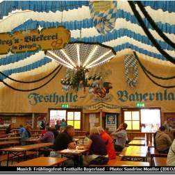 Munich Fruhlingsfest Festhalle Bayerland tente bavaroise