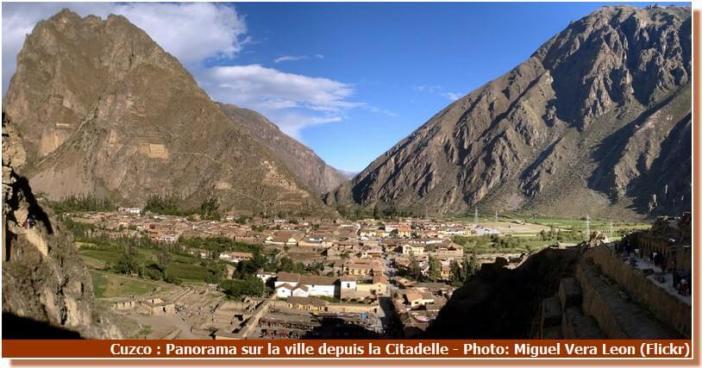 Panorama sur Cuzco depuis la citadelle