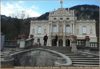 Résidence royale de Linderhof en Bavière