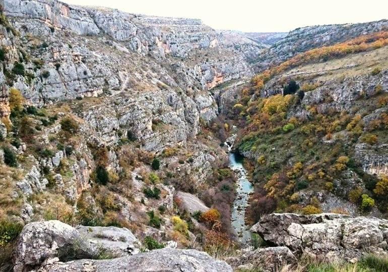 canyon cikola en automne